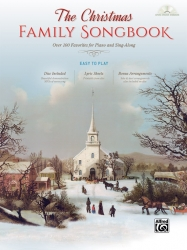 Christmas Family Songbook Easy Piano Hardcover