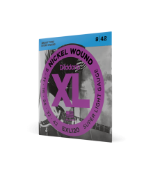 D'Addario XL Nickel Wound Super Light Gauge Electric Guitar String Set 9|42