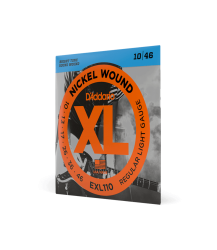 D'Addario XL Regular Light Gauge Nickel Wound Electric Guitar String Set 10|46