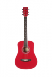 Tanara Half Size Acoustic Guitar Red