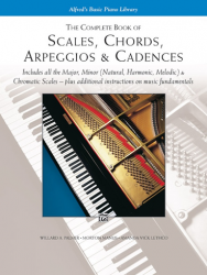 Alfred's The Complete Book of Scales, Chords, Arpeggios & Cadences