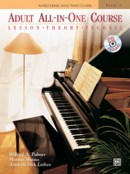 Alfred's Adult All-In-One Course Piano Level 1